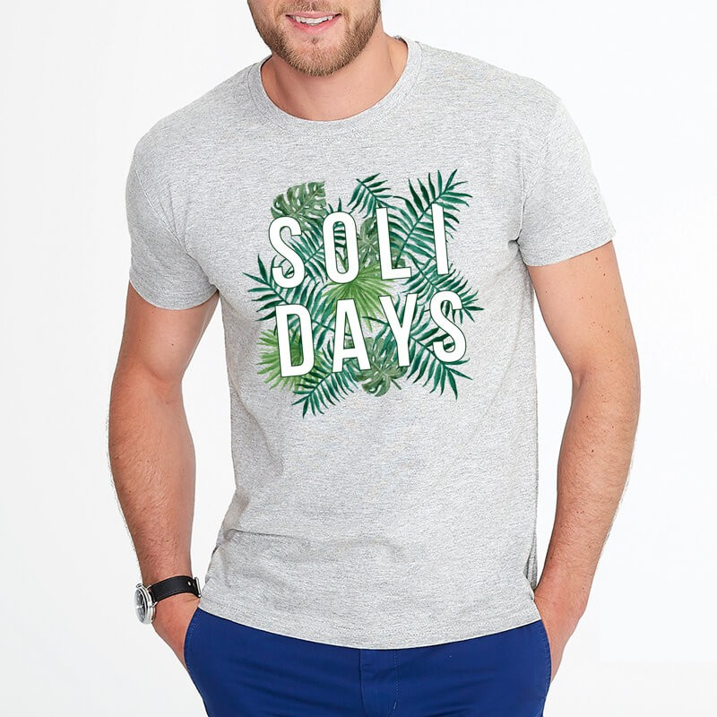 T-shirt Tropical Solidays