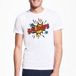 T-shirt BD Splash Solidays