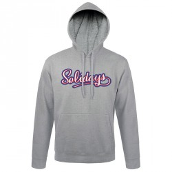 sweat-shirt solidays capuche usa