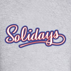 solidays illustration merchandising