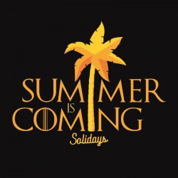 Illustration Summer is Coming Solidays