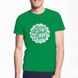 t-shirt vert solidays