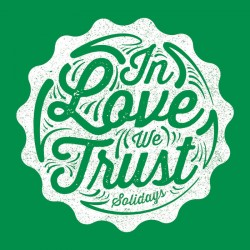 Illustration In Love We Trust T-shirt