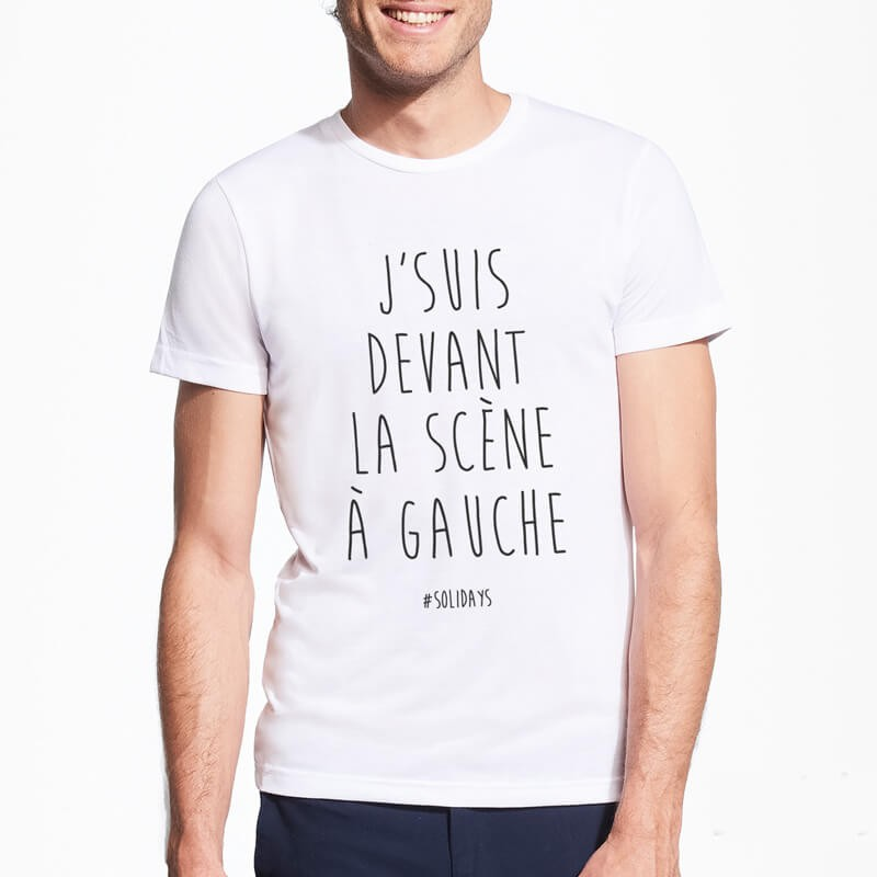 T-shirt Solidays Devant la Scène