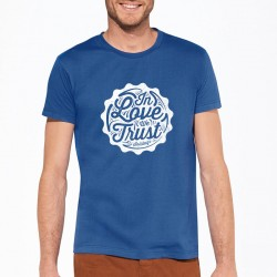 T-shirt Solidays bleu royal