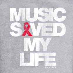 Sweat-shirt Music Saved My Life
