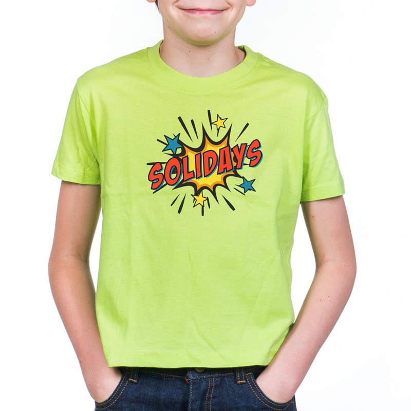 T-shirt Solidays enfant Splash