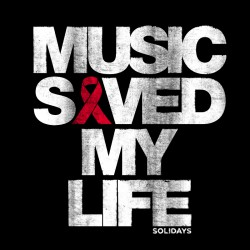 Tote Bag Music Saved My Life Noir