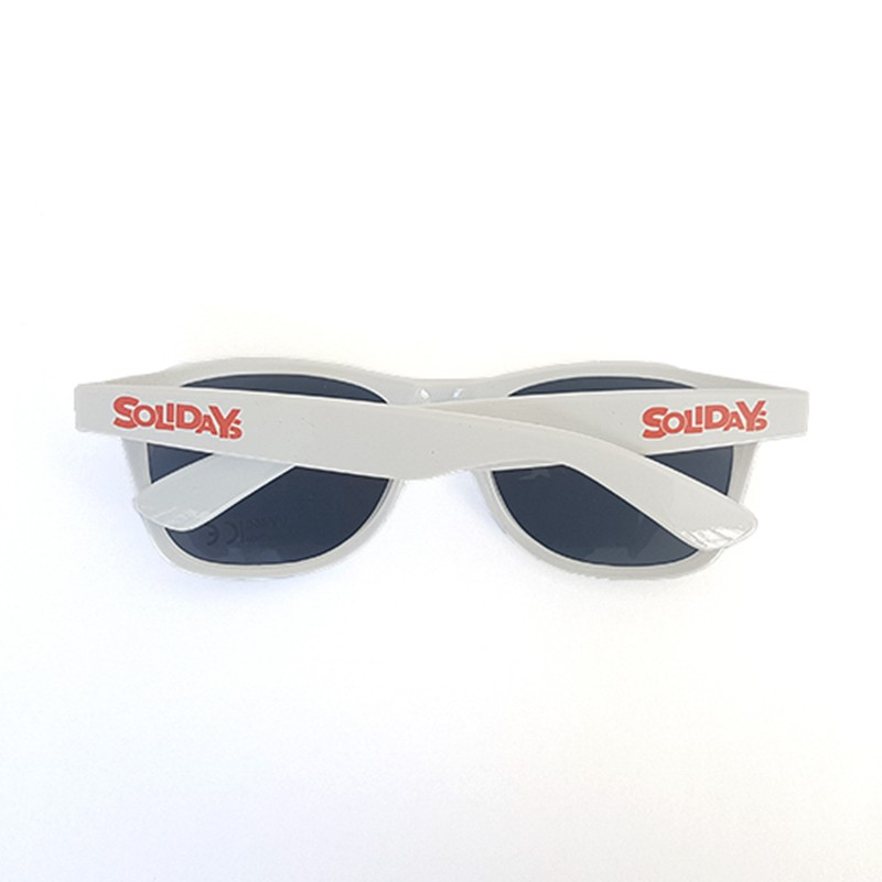 Lunettes blanches solidays