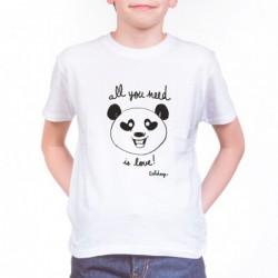 T-Shirt Solidays Panda