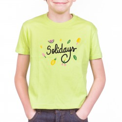T-Shirt Kids Solidays Vitaminé