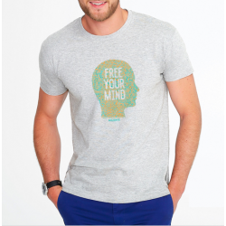 T-Shirt Homme Free Your Mind