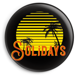 Badge Sunset Jaune